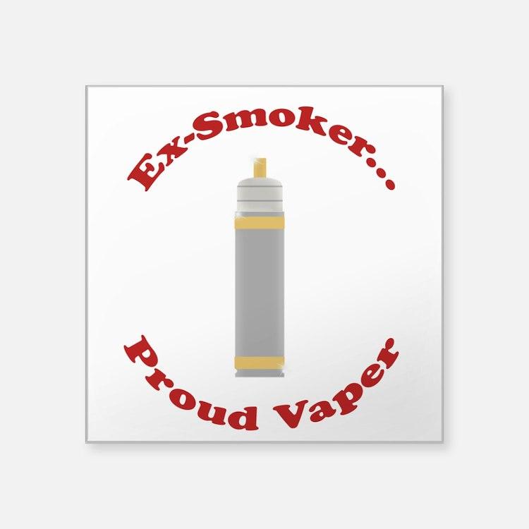 Ex-Smoker Proud Vaper Sticker