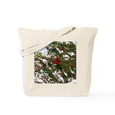 Red Robin  Tote Bag