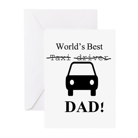World's Best Greeting Cards (Pk of 10)
