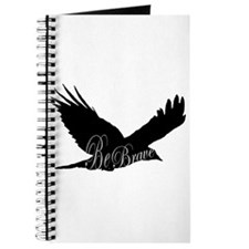 Bird Flying Be Brave Personal Journal