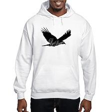 Bird Flying Mens Hoodie