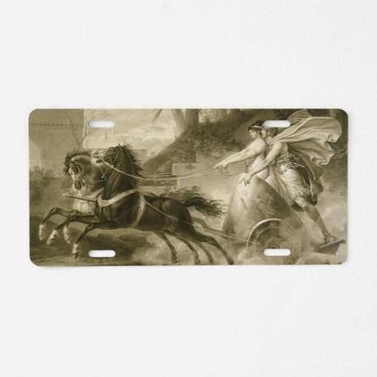 Carle Vernet - The Return f Aluminum License Plate