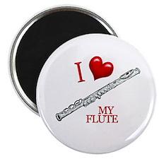 I Love My FLUTE Magnet