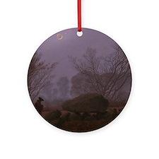 Caspar David Friedrich - A Walk at  Round Ornament