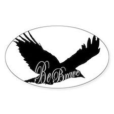 BRAVE Bird Flying Decal