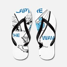 BLO Wind Surfer design Flip Flops