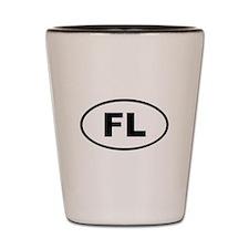 Liechtenstein FL Shot Glass