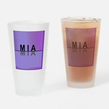 MIA ... Mine for Women Drinking Glass