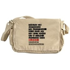 There is Nothing to Writing Messenger Bag