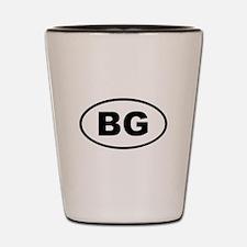 Bulgaria BG Shot Glass