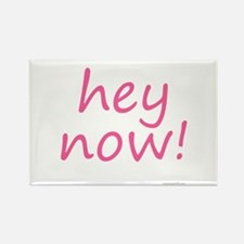 hey now! pink Rectangle Magnet