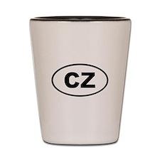 Czech Republic CZ Shot Glass