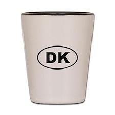 Denmark DK Shot Glass