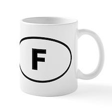 France F Mugs