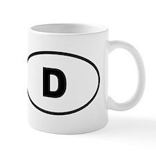 Germany D Mugs