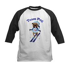 Team Pug Skier - Olympugs Tee