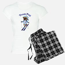 Team Pug Skier - Olympugs Pajamas