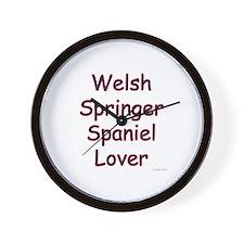 Welsh Springer Lover Wall Clock