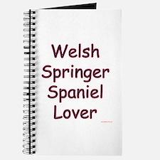 Welsh Springer Lover Journal