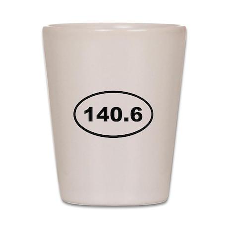 140.6 Shot Glass