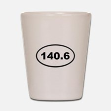 140.6 Shot Glass