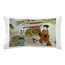 Asian art design Pillow Case