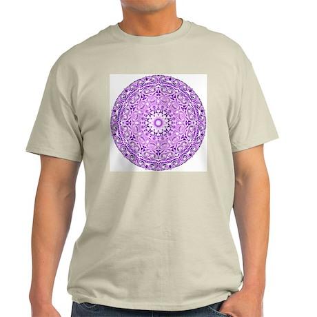 """Purple Lotus Mandala"" T-Shirt"