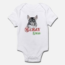 Chin Merry XMas2 Infant Bodysuit