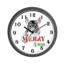 Chin Merry XMas2 Wall Clock