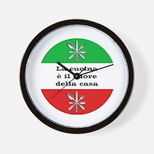 Cuore Della Casa Wall Clock