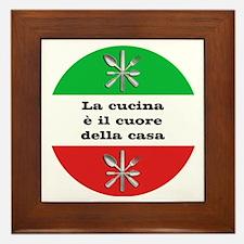 Cuore Della Casa Framed Tile