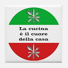 Cuore Della Casa Tile Coaster