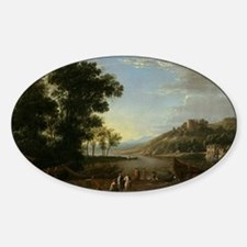 Claude Lorrain - Landscape with Mer Decal