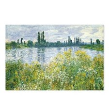 Claude Monet - Banks of t Postcards (Package of 8)