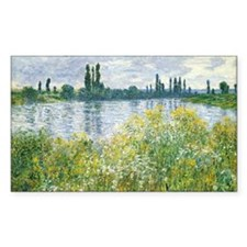 Claude Monet - Banks of the Se Decal