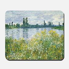 Claude Monet - Banks of the Seine Mousepad