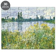 Claude Monet - Banks of the Seine Puzzle