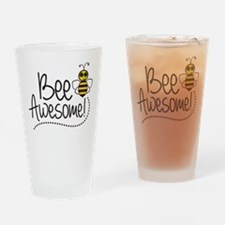 Bee Awesome! Drinking Glass