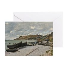 Claude Monet - Sainte-Adresse - Fren Greeting Card