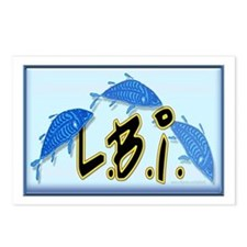 LBI Bluefish... Postcards (Package of 8)