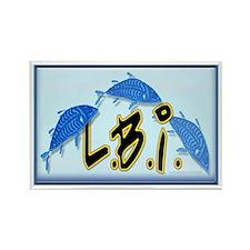 LBI Bluefish... Rectangle Magnet