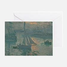 Claude Monet - Sunrise (Marine) Greeting Card