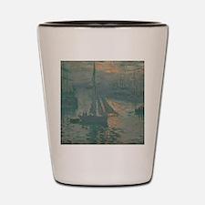 Claude Monet - Sunrise (Marine) Shot Glass