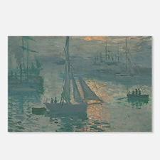 Claude Monet - Sunrise (M Postcards (Package of 8)