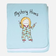 Mystery Hives baby blanket
