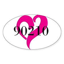 I Love 90210 Decal