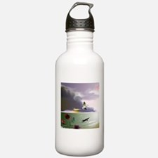 Funny Clouds Water Bottle