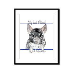 Chinny Best Friend2 Framed Panel Print