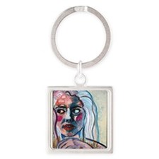 Portrait of a woman Keychains