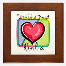 WB Grandma [Bulgarian] Framed Tile